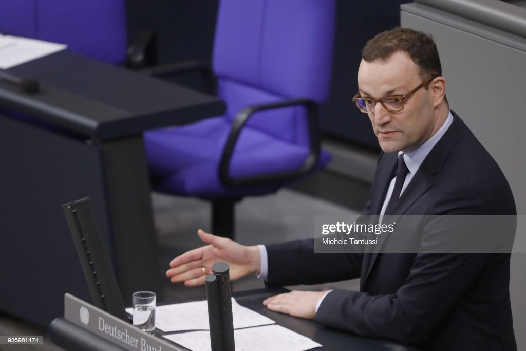 Jens Spahn Presents Government Health Policy As Abortion Debate Intensifies