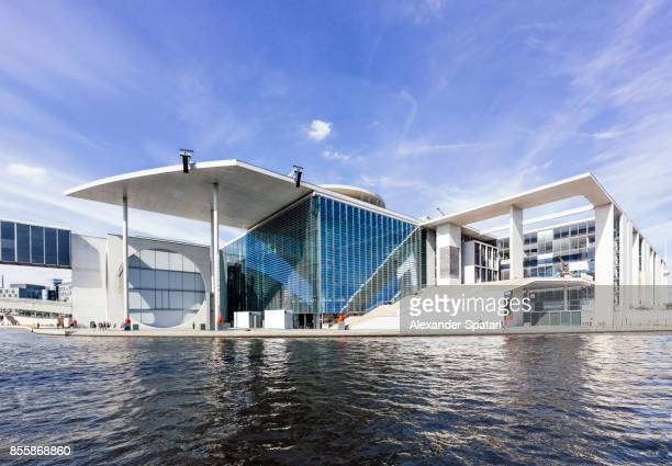 New government district and Marie-Elisabeth-Lueders-Haus in Berlin, Germany