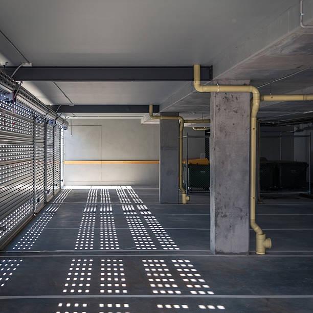 New Grey Parking Interior Wall Art