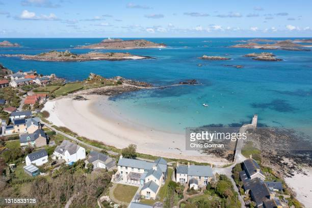 New Grimsby, Tresco, Isles Of Scilly on April 8, 2021.