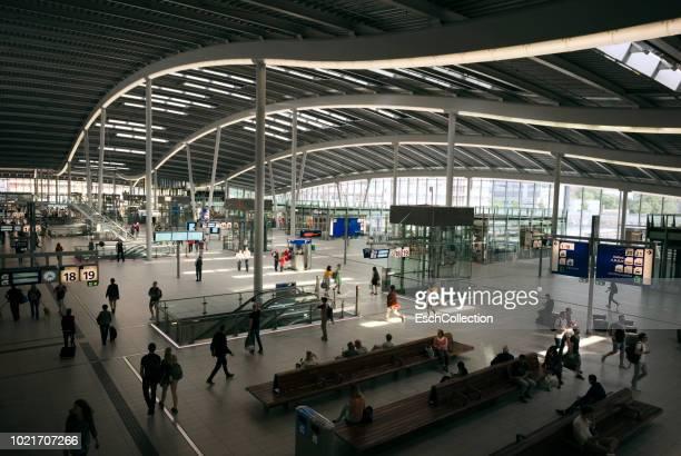 New hal of Utrecht Central Station, the Netherlands