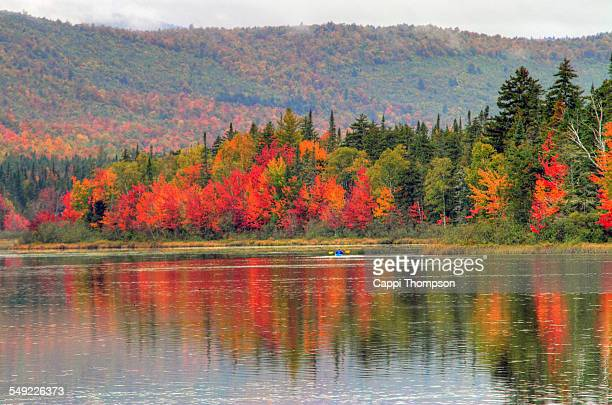 new hampshire kayaking landscape - new hampshire stock pictures, royalty-free photos & images