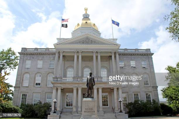 new hampshire state capitol - horizontal 1 - local government building stock pictures, royalty-free photos & images