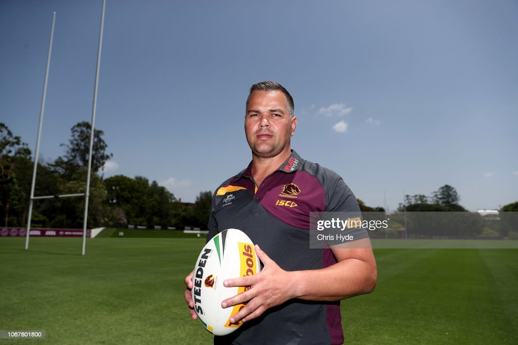 Brisbane Broncos Media Opportunity : News Photo