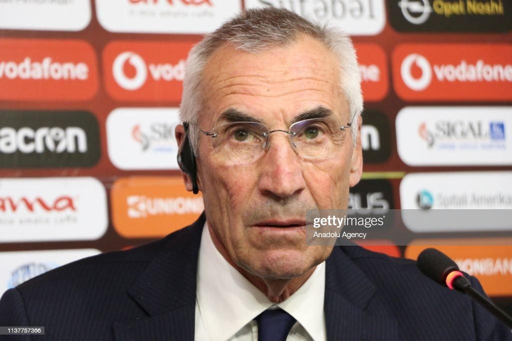 Albania hires Edoardo Reja to coach its national team : News Photo
