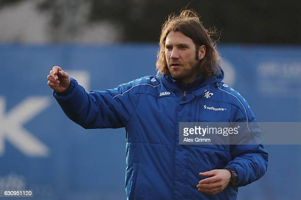 New head coach Torsten Frings during a SV Darmstadt 98 training session at the team's training ground on January 4 2017 in Darmstadt Germany