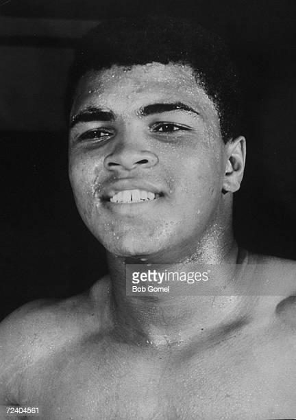 New heavyweight boxing champion Muhammad Ali.
