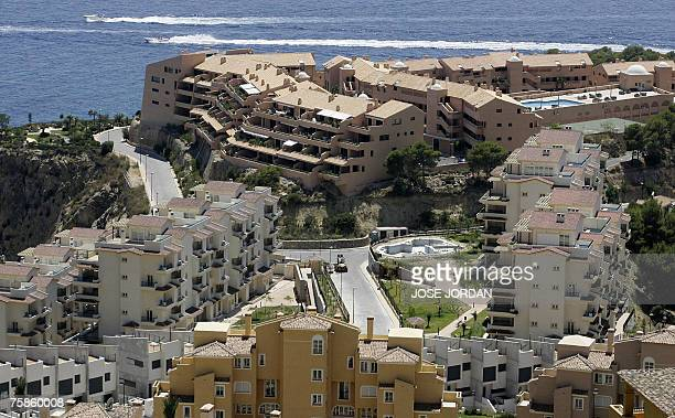 New holiday homes built in Altea on Spain's Costa del Sol 29 July 2007 According to Greenpeace Spain is failing to stop the overbuilding which is...