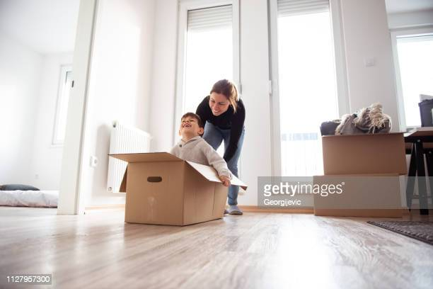new home - unpacking stock pictures, royalty-free photos & images