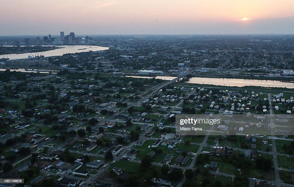 New Orleans Prepares To Mark 10 Year Anniversary Of Hurricane Katrina : News Photo