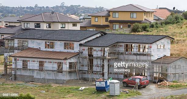 New homes are under construction in the Auckland region of Howick New Zealand on Feb 27 2007 Fletcher Building Ltd the world's biggest maker of...