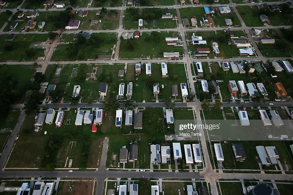 New Orleans Prepares To Mark 10 Year Anniversary Of Hurricane Katrina : News Photo