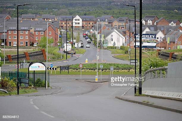 New homes now stand on the land where the Orgreave Coking plant once stood and Highfield Lane the focal point of the 1984 'Battle of Orgreave'...