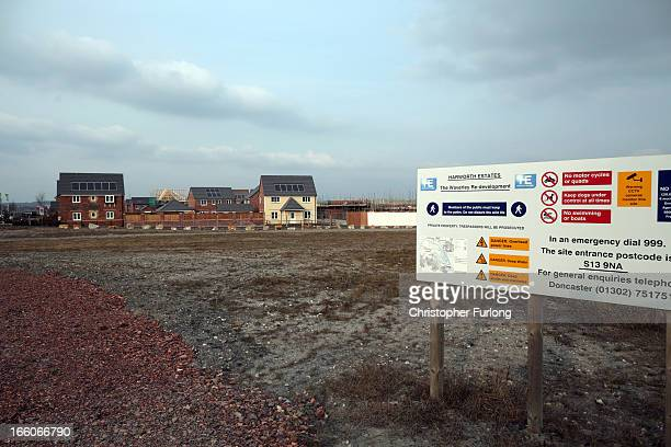 New homes occupy the site of the former Orgreave coking plant and open cast coal mine where battles with police erupted 25 years ago during the...
