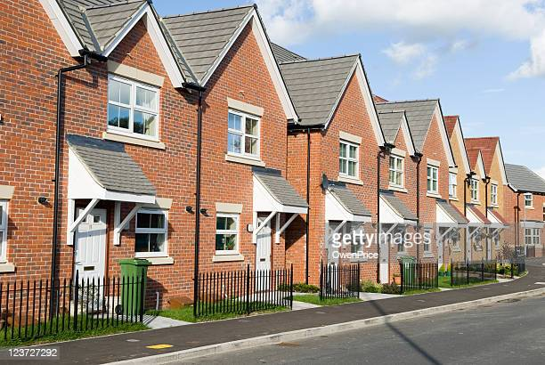 new homes - britain stock pictures, royalty-free photos & images