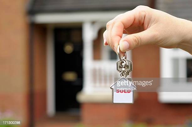 new homes - house key stock photos and pictures