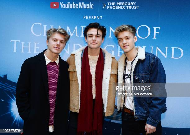New Hope Club perform at Southwark Station as part of Champions of the Underground YouTube Music celebrates the legacy of Queen in a unique takeover...