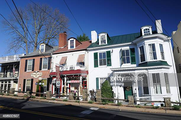 new hope street - pennsylvania stock pictures, royalty-free photos & images