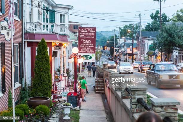 New Hope Street Scene