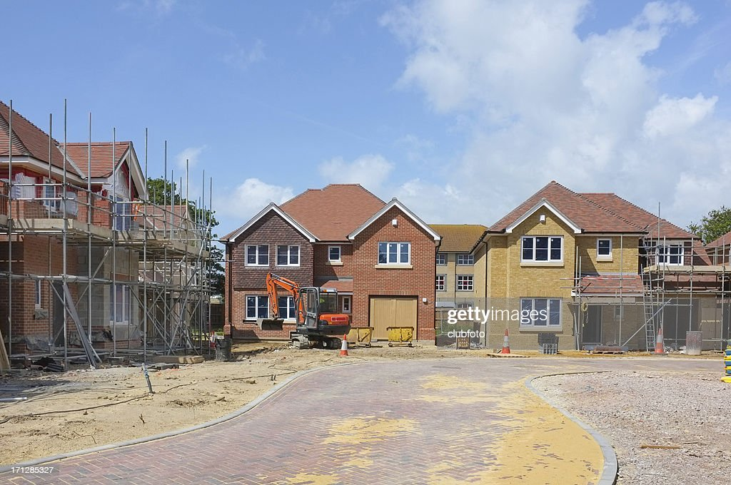New House Construction Site : Stock Photo