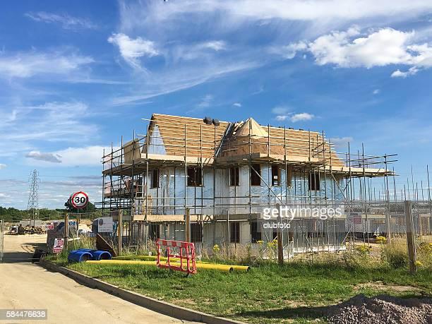 New house construction - UK