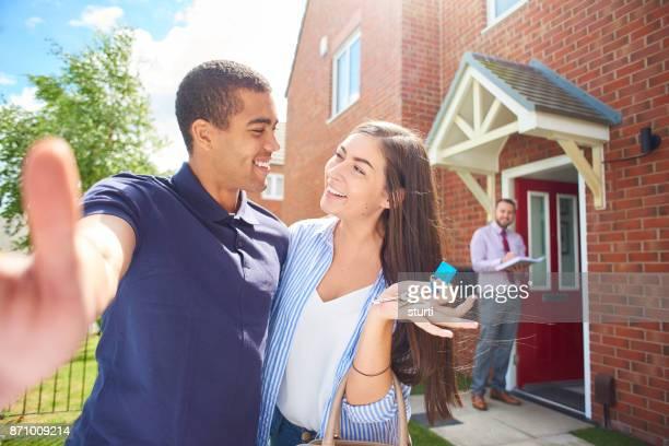 Neues Haus Selfie