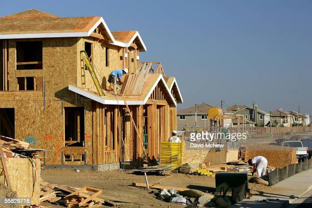 New housing is constructed in response to the area's fast-paced growth on Bethel Island, one of the residential islands surrounded by levees that...