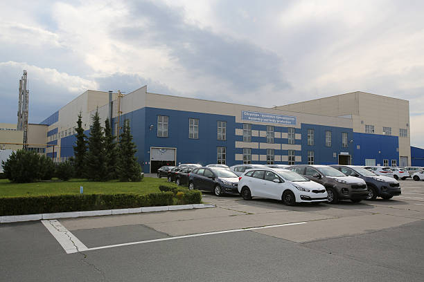 Automobile assembly at russia 39 s avtotor plant photos and for Hyundai motor finance corporate office
