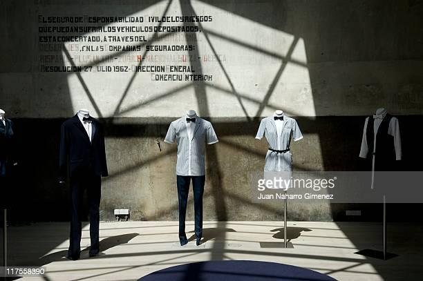 New 'Iberostar Hotel' uniforms designed by David Delfin on June 28 2011 in Madrid Spain