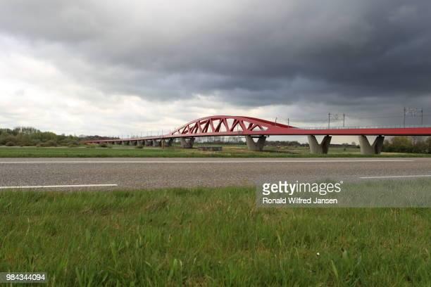 New IJssel bridge to Zwolle, Netherlands