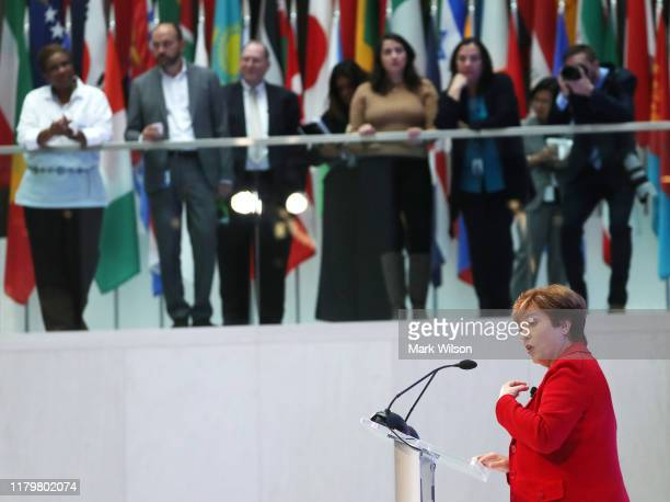 New IMF Managing Director Kristalina Georgieva, speaks about the key issues to be addressed at the upcoming IMF / World Bank Annual Meetings, at the...