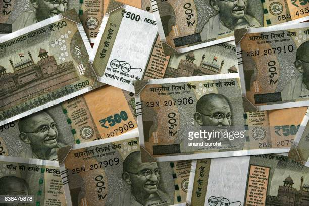 New Indian Currency Rupees Background