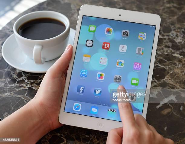 Nouveau système d'exploitation iOS 7 sur iPad Mini
