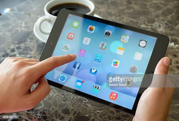Nouveau iOS 7 écran sur iPad Mini