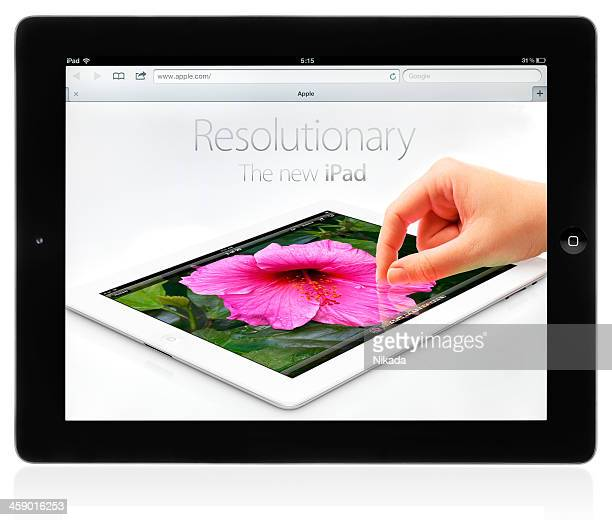 new ipad (3rd generation) - new generation stock pictures, royalty-free photos & images