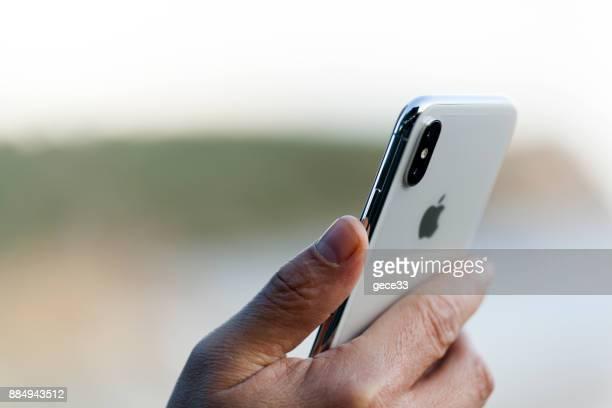 Neue Iphone X Silber
