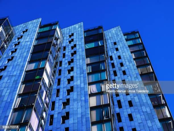 new islington, blue, upper, apartment - manchester reino unido fotografías e imágenes de stock