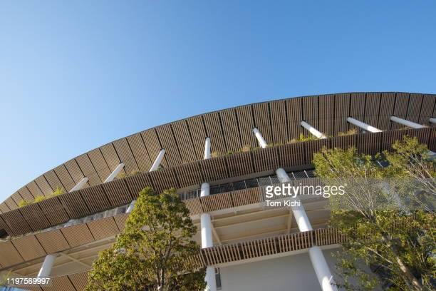 新日本国立競技場(東京) - オリンピック大会 ストックフォトと画像