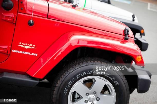 New Jeep Sahara at a Car Dealership