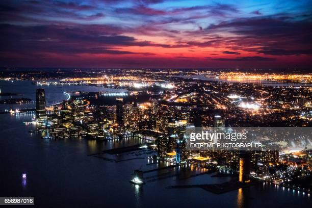 new jersey at night - new jersey stock pictures, royalty-free photos & images