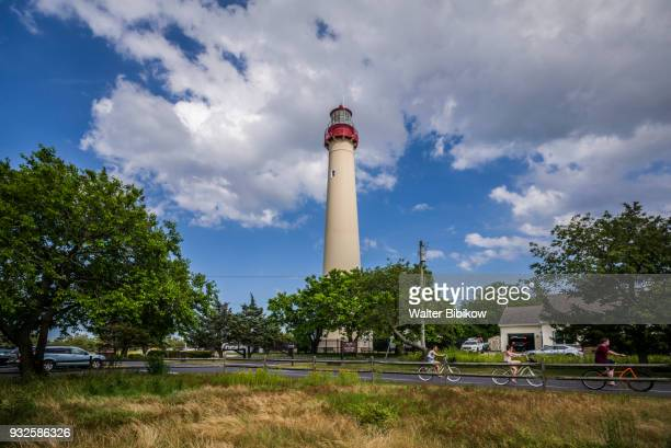 usa, new jersey, cape may, lighthouse - cape may stock pictures, royalty-free photos & images