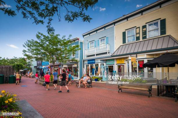usa, new jersey, cape may, street - cape may stock pictures, royalty-free photos & images