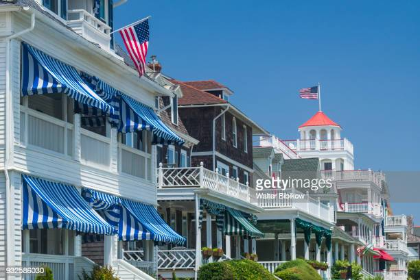 usa, new jersey, cape may, victorian-era house - cape may stock pictures, royalty-free photos & images