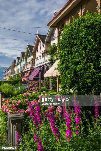 new jersey, cape may, victorian-era house - cape may stock pictures, royalty-free photos & images