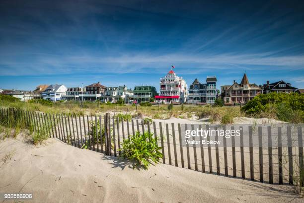usa, new jersey, cape may, victorian-era houses - cape may stock pictures, royalty-free photos & images