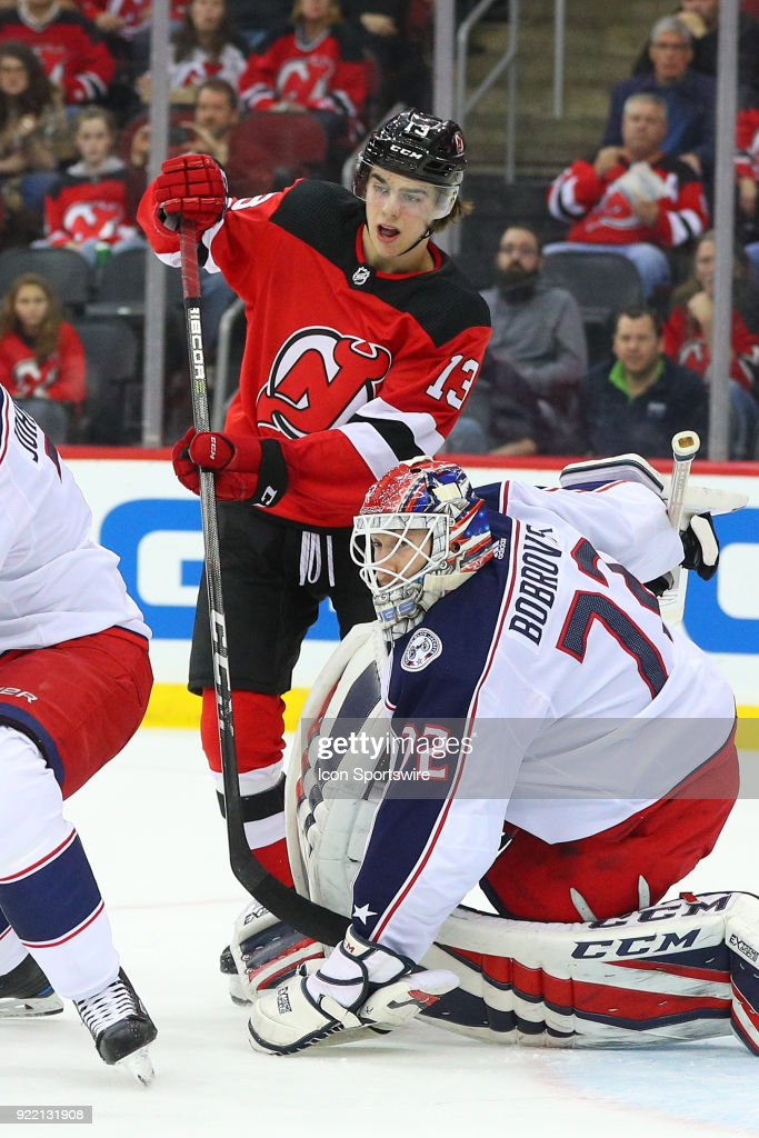 NHL: FEB 20 Blue Jackets at Devils