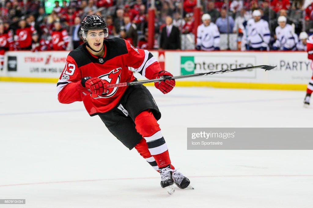 NHL: OCT 17 Lightning at Devils : News Photo