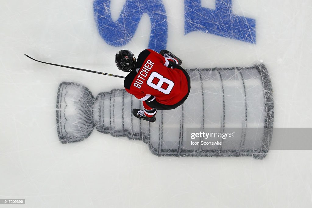 NHL: APR 16 Stanley Cup Playoffs First Round Game 3 - Lightning at Devils : News Photo