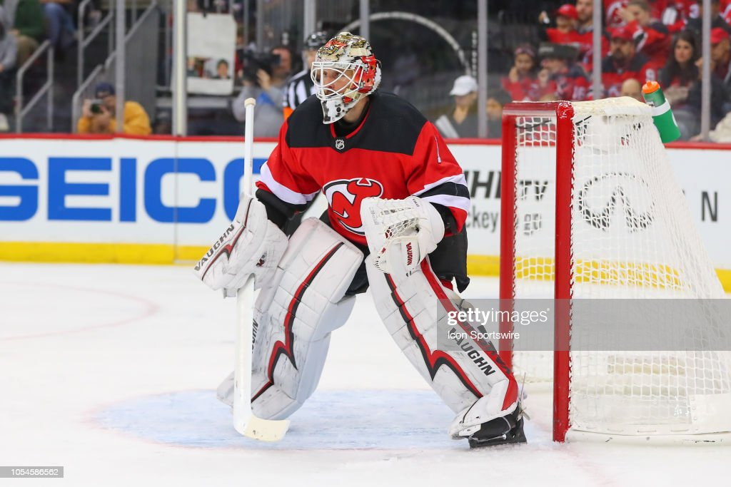 New Jersey Devils Goaltender Keith Kinkaid During The National