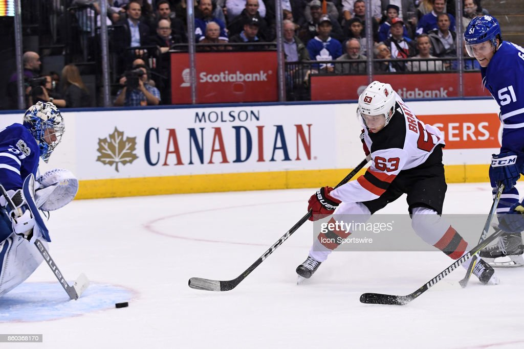NHL: OCT 11 Devils at Maple Leafs : News Photo